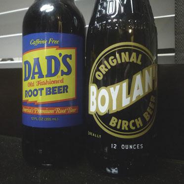Dad's Root Beer & Boylan's Birch Beer