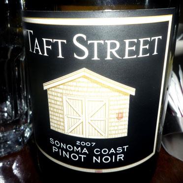 Taft Street Pinot Noir
