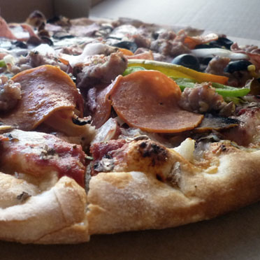Victors Special Pizza