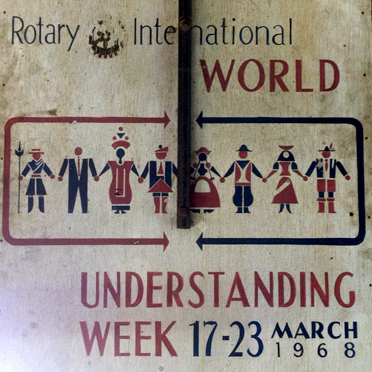 Rotary Int. Poster