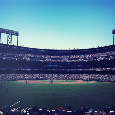 Take me out to the ball game.