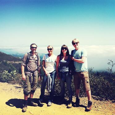 Les Poseurs, Mount Tam