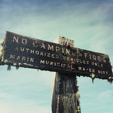No camping fires