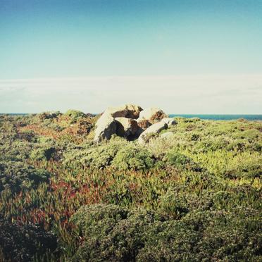 Onshore island