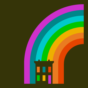 Rainbow House
